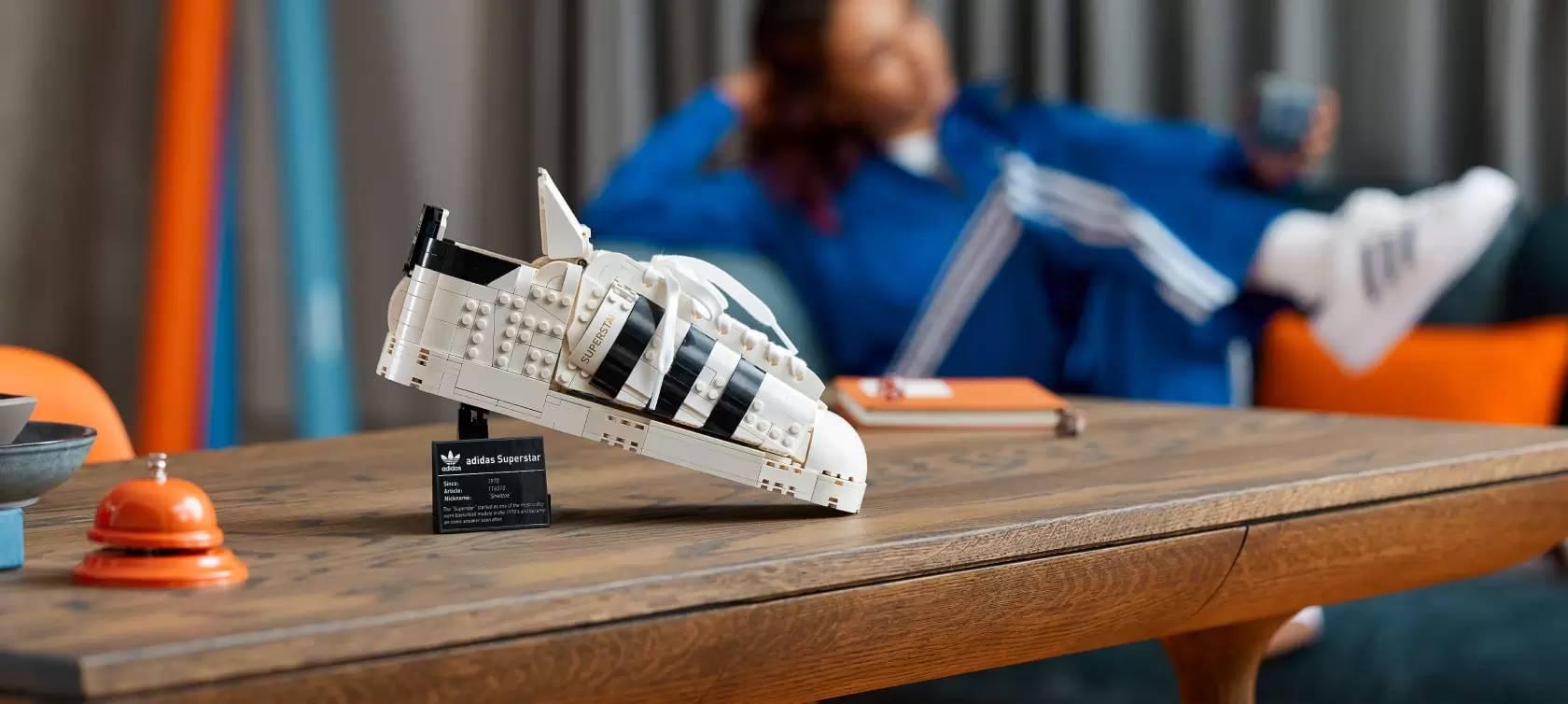 LEGO x Adidas Superstar